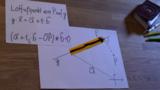 Lotfußpunktformel - Erklärung