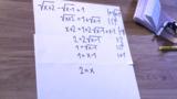 Wurzelgleichungen – Beispiel 2