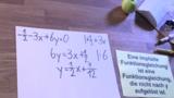 Funktionsgleichungen - implizite Funktion
