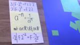 Potenzen mit negativen Exponenten - Erklärung 1