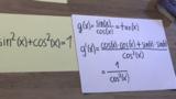 Ableitungen trigonometrischer Funktionen 3