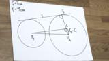 Satz des Thales - Gemeinsame äußere Tangenten zweier Kreise konstruieren (1)