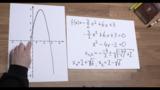 Nullstellen quadratischer Funktionen – Beispiel 3
