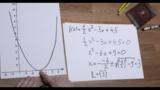 Nullstellen quadratischer Funktionen - Beispiel 5