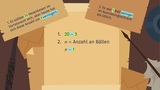 Schlüsselwörter für Addition und Subtraktion