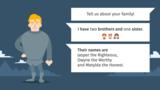 Introducing yourself - Erstes Vorstellen und Kennenlernen