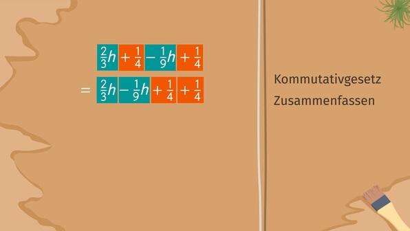 Gleichungen mit Brüchen vereinfachen