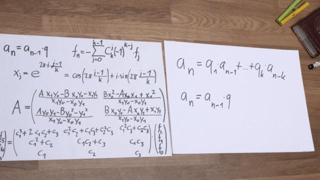 Arithmetische und geometrische Folgen
