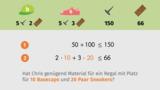 Lineare Ungleichungen mit zwei Variablen – Einführung