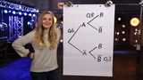 Bedingte Wahrscheinlichkeit - Baumdiagramm ergänzen