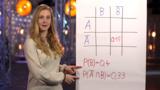 Vierfeldertafel ergänzen und Baumdiagramm zeichnen