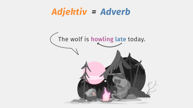 Adjective or Adverb – Besonderheiten