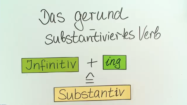 Gerund: Grundlagen – Englisch in 4 1/2 Minuten erklärt.