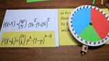 Formel von Bernoulli - Glücksrad