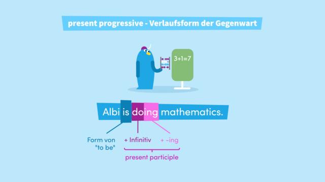 Present Progressive – Verlaufsform der Gegenwart