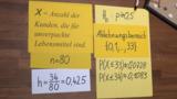 Linksseitiger Hypothesentest - Plastikverpackung