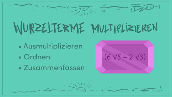 Wurzelterme multiplizieren