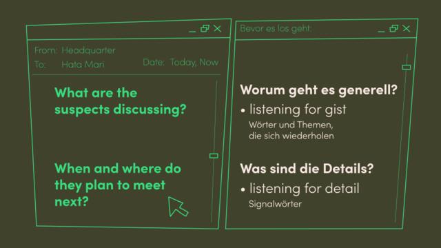 How to listen – Wie verstehe ich Hörtexte?