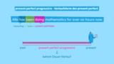 Present Perfect Progressive – Die Verlaufsform des Perfekts