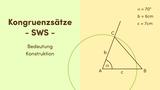 Kongruenzsätze – SWS