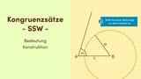 Kongruenzsätze – SSW