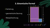 Dritte binomische Formel