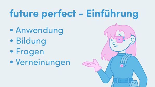 Future Perfect – Einführung