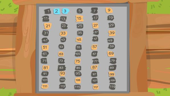 Primzahlen – Sieb des Eratosthenes