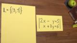 Lineare Gleichungssysteme mit zwei Variablen – eine Lösung
