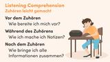 Listening Comprehension – Zuhören leicht gemacht
