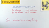 Reflexive Pronouns and Reciprocal Pronouns
