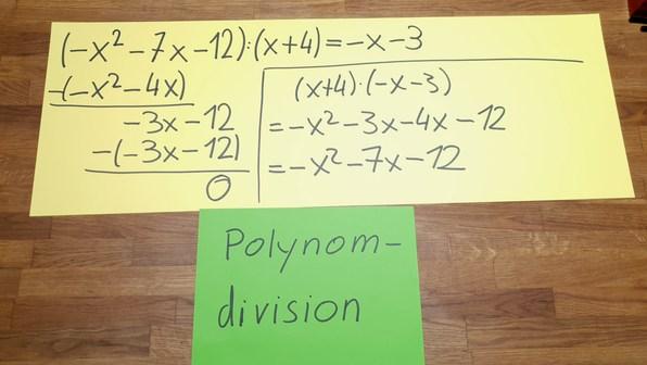 Polynomdivision - Erklärung