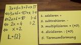 Lineare Gleichungen lösen 1