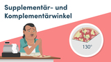 Supplementär- und Komplementärwinkel