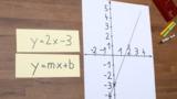Lineare Funktionen – ganzzahlige Parameter m und b