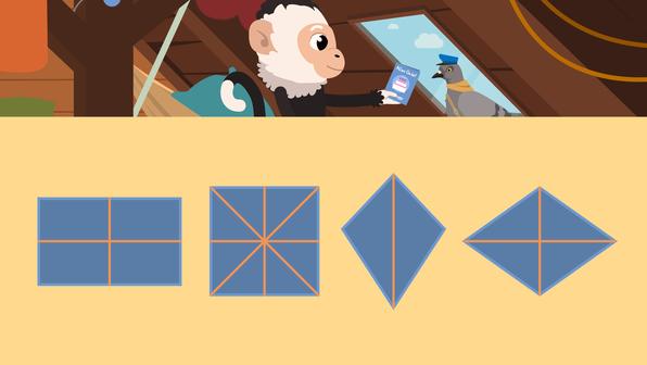 Achsensymmetrische Figuren
