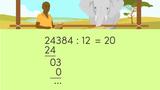 Schriftliche Division durch zweistellige Zahlen