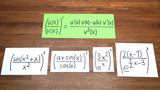 Quotientenregel - trigonometrische Funktionen und Exponentialfunktionen