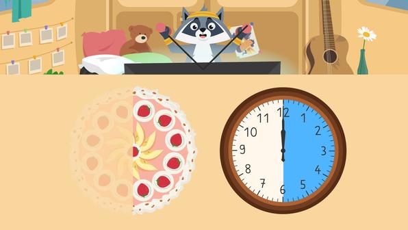 Uhrzeit – Was ist eine halbe Stunde?