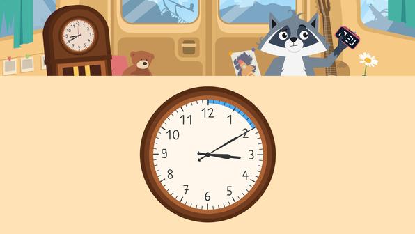 Uhrzeiten – wie lese ich die Uhr