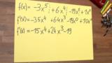 Ableitungsregeln für ganzrationale Funktionen