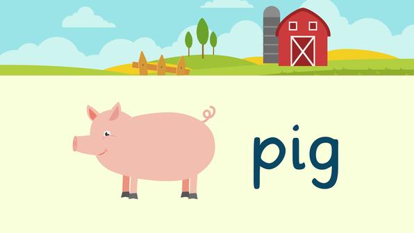 Farm Animals – Vokabeln zu Tieren auf dem Bauernhof