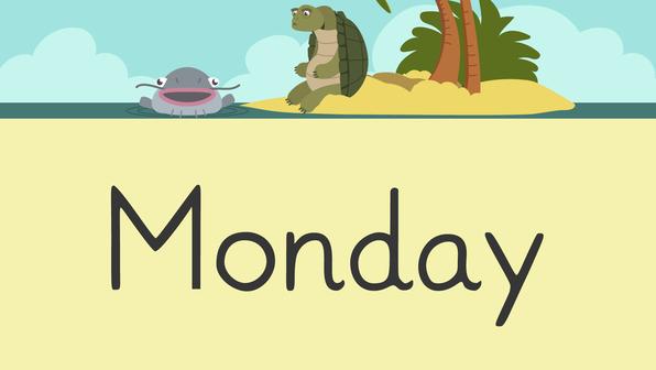 Days of the week – Die Wochentage