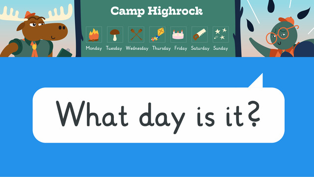 What day is it? – Welcher Tag ist heute?