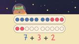 Zahlen bis 20 zusammenzählen