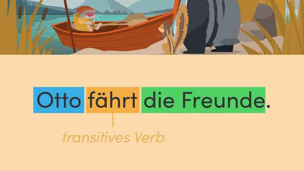 Transitive und intransitive Verben