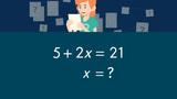 Gleichungen durch geschicktes Probieren lösen