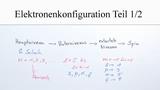 Elektronenkonfiguration (1)