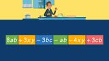 Terme mit unterschiedlichen Variablen zusammenfassen