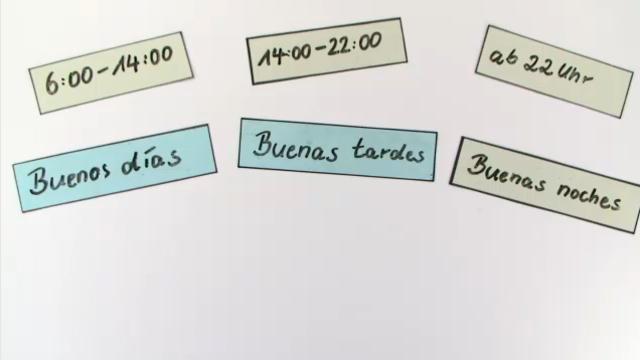Tageszeiten und Begrüßungen im Spanischen – Spanisch online lernen